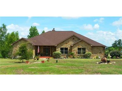 Paige Single Family Home Pending - Taking Backups: 141 Davy Crockett Rd