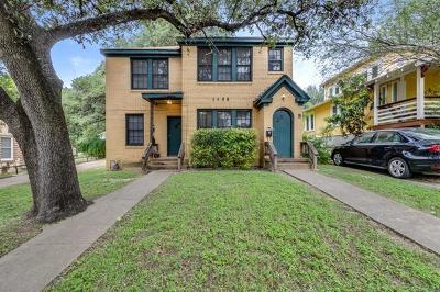Austin Multi Family Home Pending - Taking Backups: 1508 Travis Heights Blvd