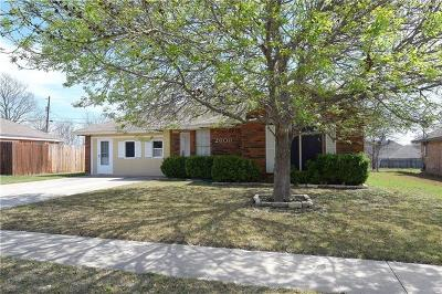 Killeen Single Family Home For Sale: 2606 Marlin Dr