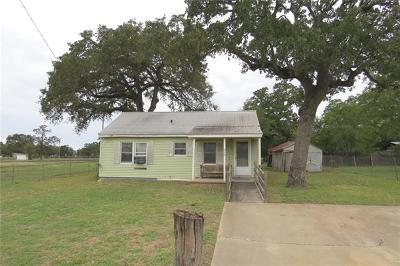 Rockdale TX Single Family Home For Sale: $85,000
