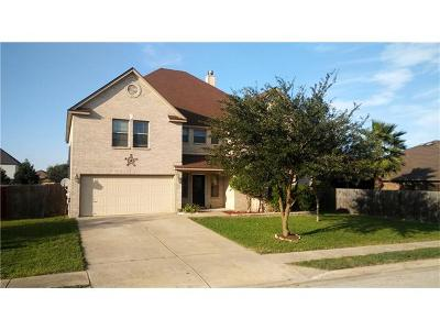 Round Rock Single Family Home For Sale: 616 Dark Tree Ln