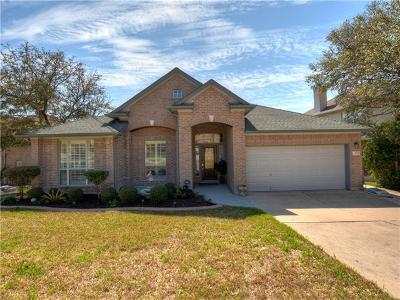 Round Rock Single Family Home For Sale: 3958 Lord Byron Cir
