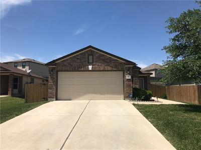 Kyle Single Family Home For Sale: 283 Tower Dr