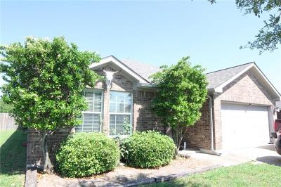 Hutto Single Family Home For Sale: 120 Kerley Dr