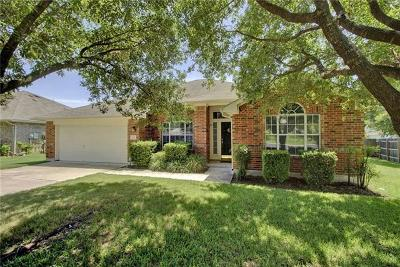 Round Rock Single Family Home For Sale: 302 Ranier Ln