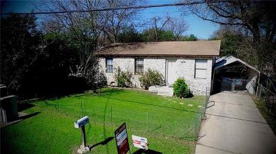 Austin TX Single Family Home For Sale: $450,000