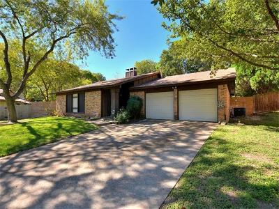 Travis County Single Family Home For Sale: 1309 Warrington Dr