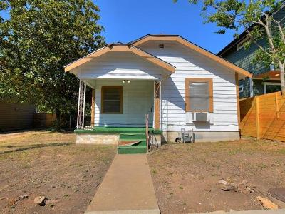 Austin Single Family Home For Sale: 1606 Maple Ave