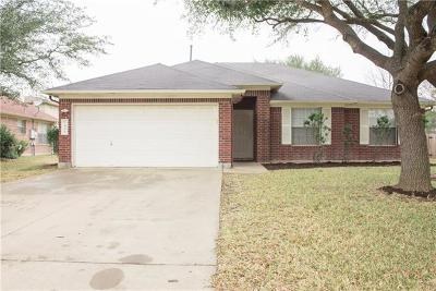 Round Rock Single Family Home For Sale: 1408 Quicksilver Cir