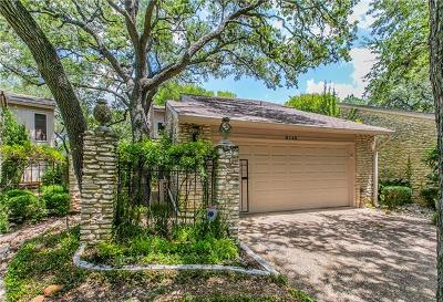 Austin Condo/Townhouse For Sale: 8148 Meandering Way