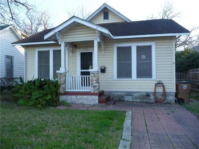 Austin Single Family Home For Sale: 2703 E 2nd St