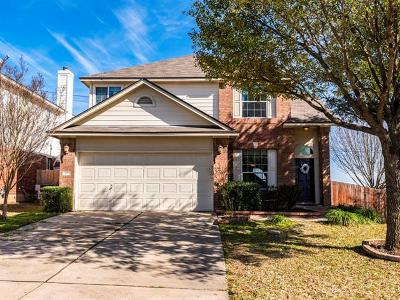 Round Rock Single Family Home For Sale: 3911 Whitey Ford Way