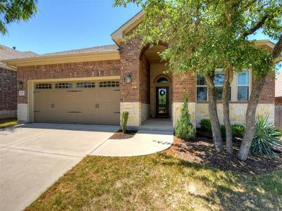 Leander Single Family Home For Sale: 633 Cerezo Dr