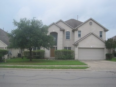 Round Rock  Single Family Home For Sale: 3516 Rams Horn Way