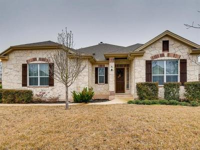 Georgetown Single Family Home For Sale: 207 Las Colinas Dr