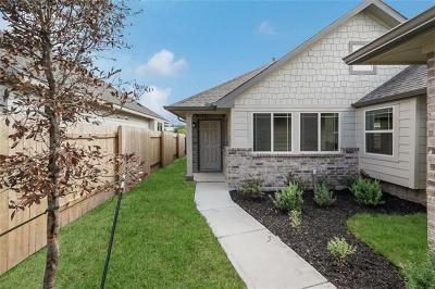 Kyle Single Family Home For Sale: 490 Nautical Loop