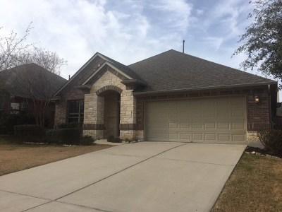 Leander Single Family Home Pending - Taking Backups: 2809 Prosperity