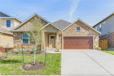 Hutto Single Family Home For Sale: 106 Guernsey Ave