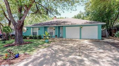 Round Rock Single Family Home For Sale: 908 Rolling Green Dr