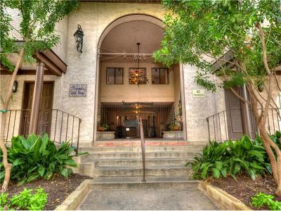 Travis County Condo/Townhouse Pending - Taking Backups: 505 W 7th St #314