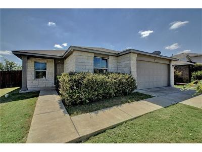 Manor Single Family Home Pending - Taking Backups: 18512 Great Falls Dr