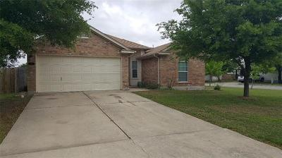 Hutto Rental For Rent: 602 Losoya Ct
