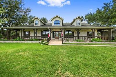 Liberty Hill Single Family Home For Sale: 255 S Showhorse Dr