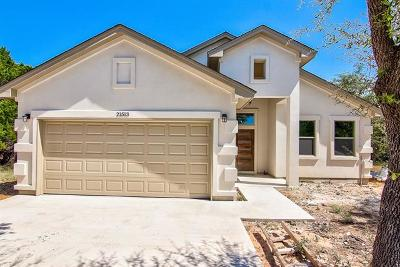 Lago Vista Single Family Home For Sale: 21513 Santa Carlo Ave