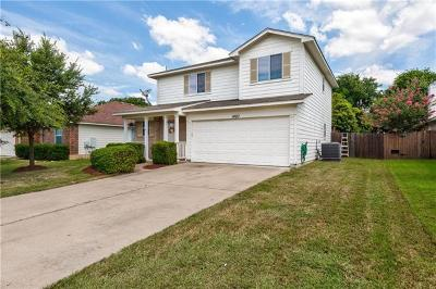 Round Rock Single Family Home Pending - Taking Backups: 1420 Kenneys Way