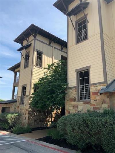 Jonestown Condo/Townhouse Pending - Taking Backups: 17700 Edgewood Way #101