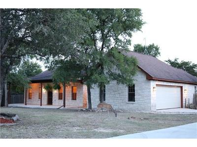 Wimberley Single Family Home Active Contingent: 33 Indian Princess