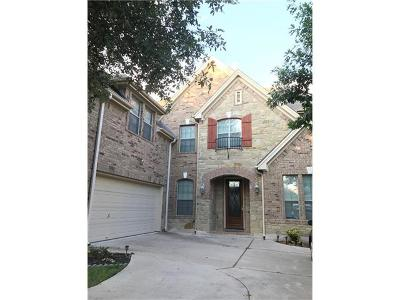 Round Rock Single Family Home For Sale: 3625 Aquamarine Dr