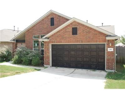 Buda TX Single Family Home For Sale: $199,900
