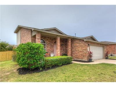 Leander Single Family Home For Sale: 112 McCarthur Dr