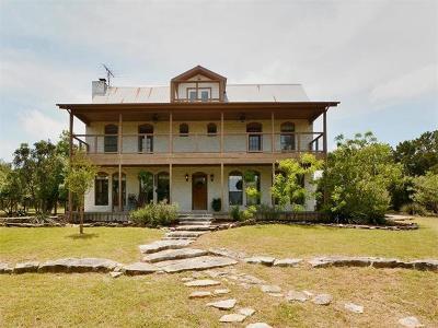 Austin Single Family Home Active Contingent: 8605 Bear Creek Dr