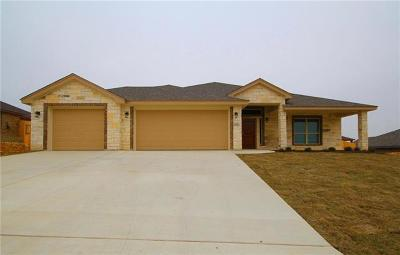 Harker Heights Single Family Home For Sale: 2525 Faux Pine Dr