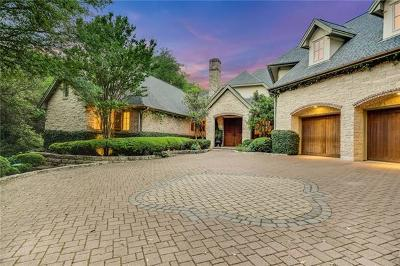 Travis County Single Family Home Pending - Taking Backups: 3960 Westlake Dr