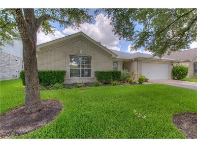Round Rock Single Family Home For Sale: 17008 Tortoise St