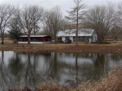 Lockhart Single Family Home For Sale: 5292 E Fm 20