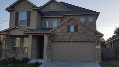 Pflugerville Single Family Home For Sale: 18320 Blush Rose Rd