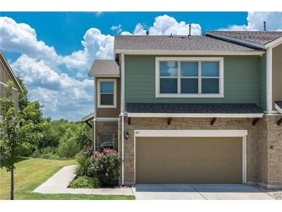 Round Rock Condo/Townhouse For Sale: 1620 Bryant Dr #801