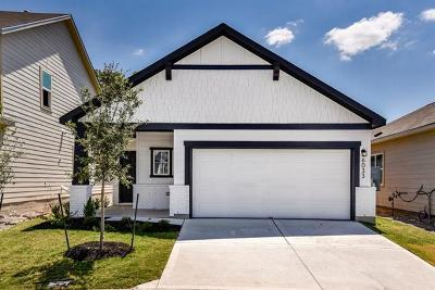Round Rock Single Family Home For Sale: 6033 Urbano Bnd