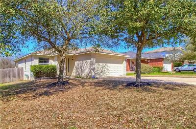 Pflugerville Single Family Home Pending - Taking Backups: 14928 Sassafras Trl