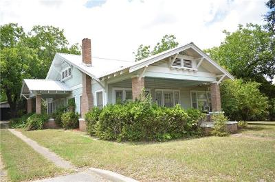 Lampasas County Single Family Home For Sale: 1116 E 4th St
