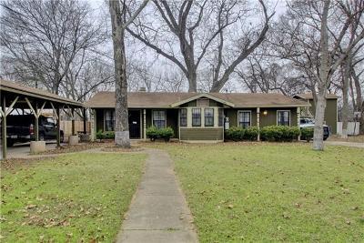 Single Family Home For Sale: 1116 Walton Ln