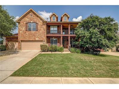 Cedar Park Single Family Home For Sale: 3010 Lombardi Way