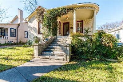 Travis Heights, Travis Heights Terrace Condo Amd Single Family Home For Sale: 2106 Kenwood Ave