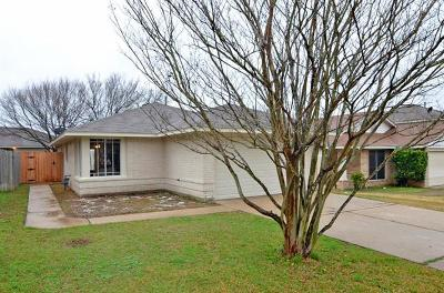 Pflugerville Single Family Home For Sale: 1205 Miss Allisons Way