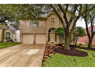 Round Rock Single Family Home For Sale: 16808 Sabertooth Dr