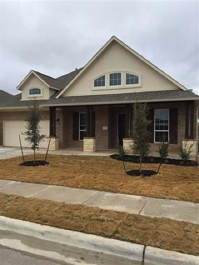 Buda TX Single Family Home For Sale: $365,726